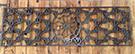 ozel tasarim lazer kesim bir desen teknik metal ferforjeden kod: TCNC-08