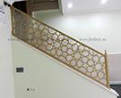 Selcuklu motifi lazer kesim merdiven korkulugu kod: TMD-64