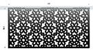 Lazer kesim perfore sac motifler desenler kod: TKM-14
