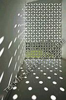 lazer kesim dekoratif motifli paravan seperator ara bolme ayirici teknik metal kod: TPR-91