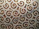 lazer kesim dekoratif motifli paravan seperator ara bolme ayirici teknik metal kod: TPR-95