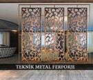 lazer kesim dekoratif motifli paravan seperator ara bolme ayirici teknik metal kod: TPR-69