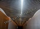 teknik metal ferforje tavan aydinlatma apligi kod: TTA-33