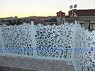 lazer kesim-perfore balkon-teras korkuluk demirleri kod: BL-28