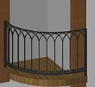 fransiz balkon korkuluk demiri kod: TCZ-29