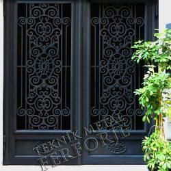 Ferforje Bina Kapısı Kod:BK-15