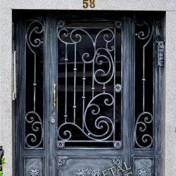 Ferforje Bina Kapısı Kod:BK-16