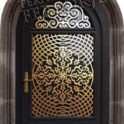 Ferforje Bina Kapısı Kod:BK-02