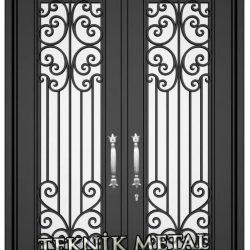 Ferforje Bina Kapısı Kod:BK-33