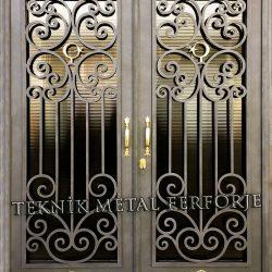 Ferforje Bina Kapısı Kod:BK-34