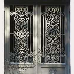 Ferforje Bina Kapısı Kod:BK-32
