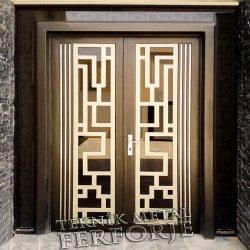 Ferforje Bina Kapısı Kod:BK-44