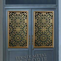 Ferforje Bina Kapısı Kod:BK-49