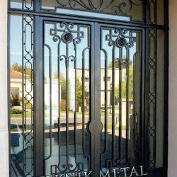 Ferforje Bina Kapısı Kod:BK-05