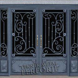 Ferforje Bina Kapısı Kod:BK-50