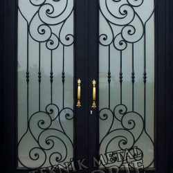 Ferforje Bina Kapısı Kod:BK-51