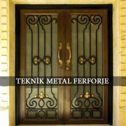 Ferforje Bina Kapısı Kod:BK-59