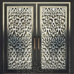Ferforje Bina Kapısı Kod:BK-67