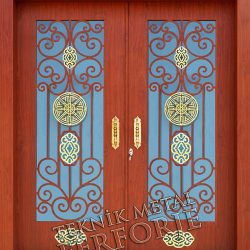 Ferforje Bina Kapısı Kod:BK-07