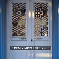 Ferforje Bina Kapısı Kod:BK-73