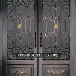 Ferforje Bina Kapısı Kod:BK-75