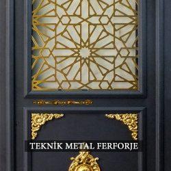 Ferforje Bina Kapısı Kod:BK-78