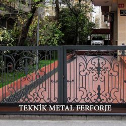 Ferforje Bahçe Kapısı Kod: BC-72