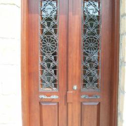 Lazer Kesim Kapı Motifi Kod:KM-05