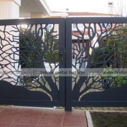 Lazer Kesim Kapı Motifi Kod:KM-24
