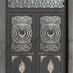 Lazer Kesim Kapı Motifi Kod:KM-25