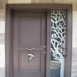 Lazer Kesim Kapı Motifi Kod:KM-28