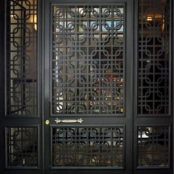 Lazer Kesim Kapı Motifi Kod:KM-32