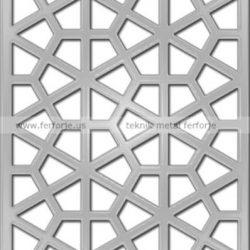Lazer Kesim Kapı Motifi Kod:KM-33
