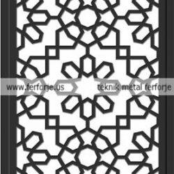 Lazer Kesim Kapı Motifi Kod:KM-37