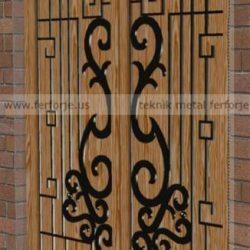 Lazer Kesim Kapı Motifi Kod:KM-39