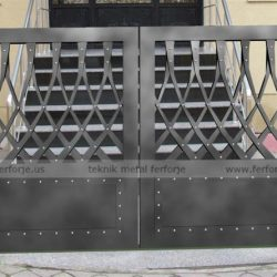 Lazer Kesim Kapı Motifi Kod:KM-44