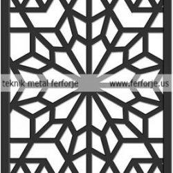 Lazer Kesim Kapı Motifi Kod:KM-45