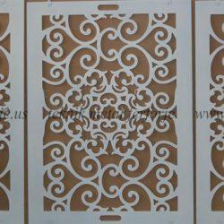 Lazer Kesim Kapı Motifi Kod:KM-54