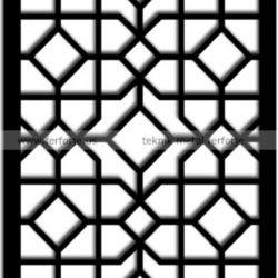 Lazer Kesim Kapı Motifi Kod:KM-56