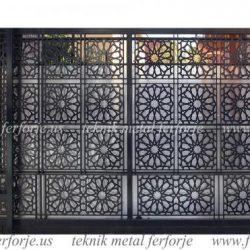 Lazer Kesim Kapı Motifi Kod:KM-61