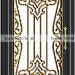 Lazer Kesim Kapı Motifi Kod:KM-62