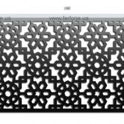 Lazer Kesim Kapı Motifi Kod:KM-63