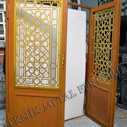 Lazer Kesim Kapı Motifi Kod:KM-03
