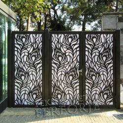 Ferforje Bahçe Kapısı Kod: BC-100