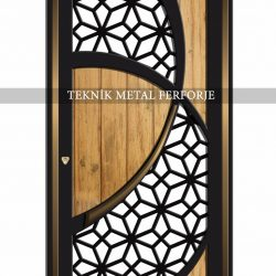 Ferforje Bina Kapısı Kod:BK-82