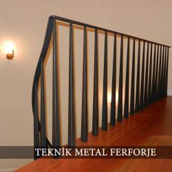 Ferforje Merdiven Korkuluğu Kod:MD-04