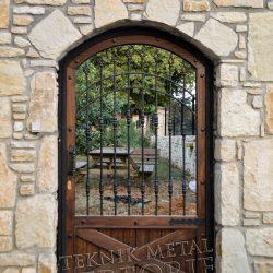 Ferforje Bahçe Kapısı Kod: BC-103