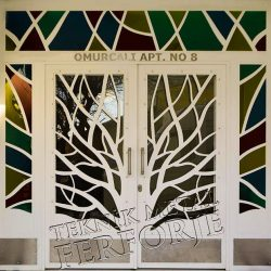 Ferforje Bina Kapısı Kod:BK-17