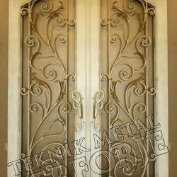 Ferforje Bina Kapısı Kod:BK-21