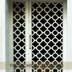 Ferforje Bina Kapısı Kod:BK-25